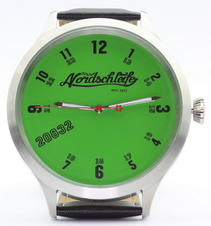 "Nordschleife® ""GREEN HELL EDITION"" 20832 SUPER PLUS watch"