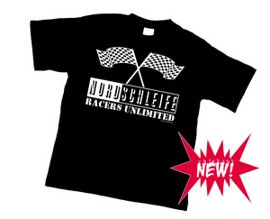 "NEW! T-shirt ""Nordschleife RACERS UNLIMITED"""