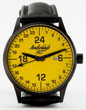NEW! Nordschleife YELLOW ALERT 24-hour watch