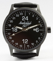 "Nordschleife ""SPEEDBLACK EDITION"" 24-hour watch 43 mm"