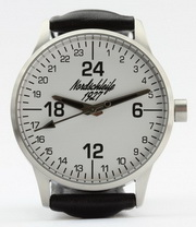 "Nordschleife ""SPEEDWHITE EDITION"" 24-hour watch 43 mm"