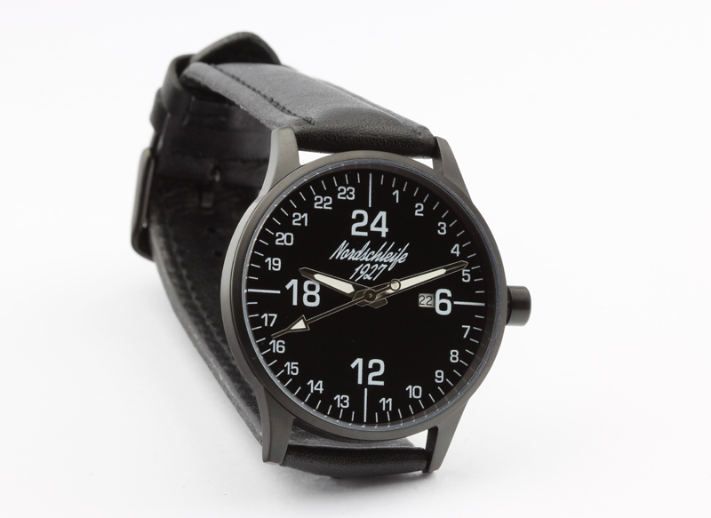 Nordschleife 1927 SPEEDBLACK EDITION 24 hour watch